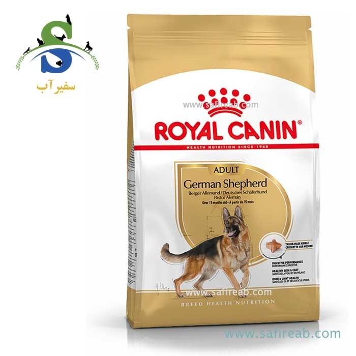 غذای خشک مخصوص سگ بالغ نژاد ژرمن شپرد (۱۲ کیلوگرم) رویال کنین