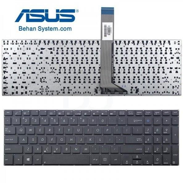 تصویر کیبورد لپ تاپ ASUS مدل K551 به همراه لیبل کیبورد فارسی جدا گانه