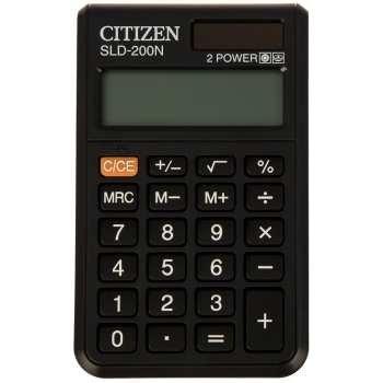 عکس ماشین حساب سیتیزن مدل SLD-200N Citizen SLD-200N Calculator ماشین-حساب-سیتیزن-مدل-sld-200n