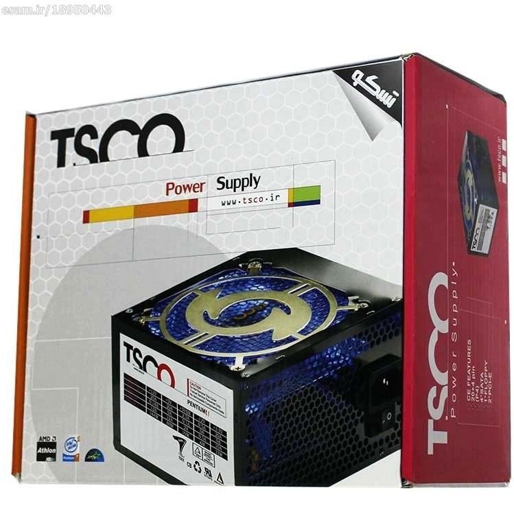 image پاور TSCO TP-570 + کابل برق