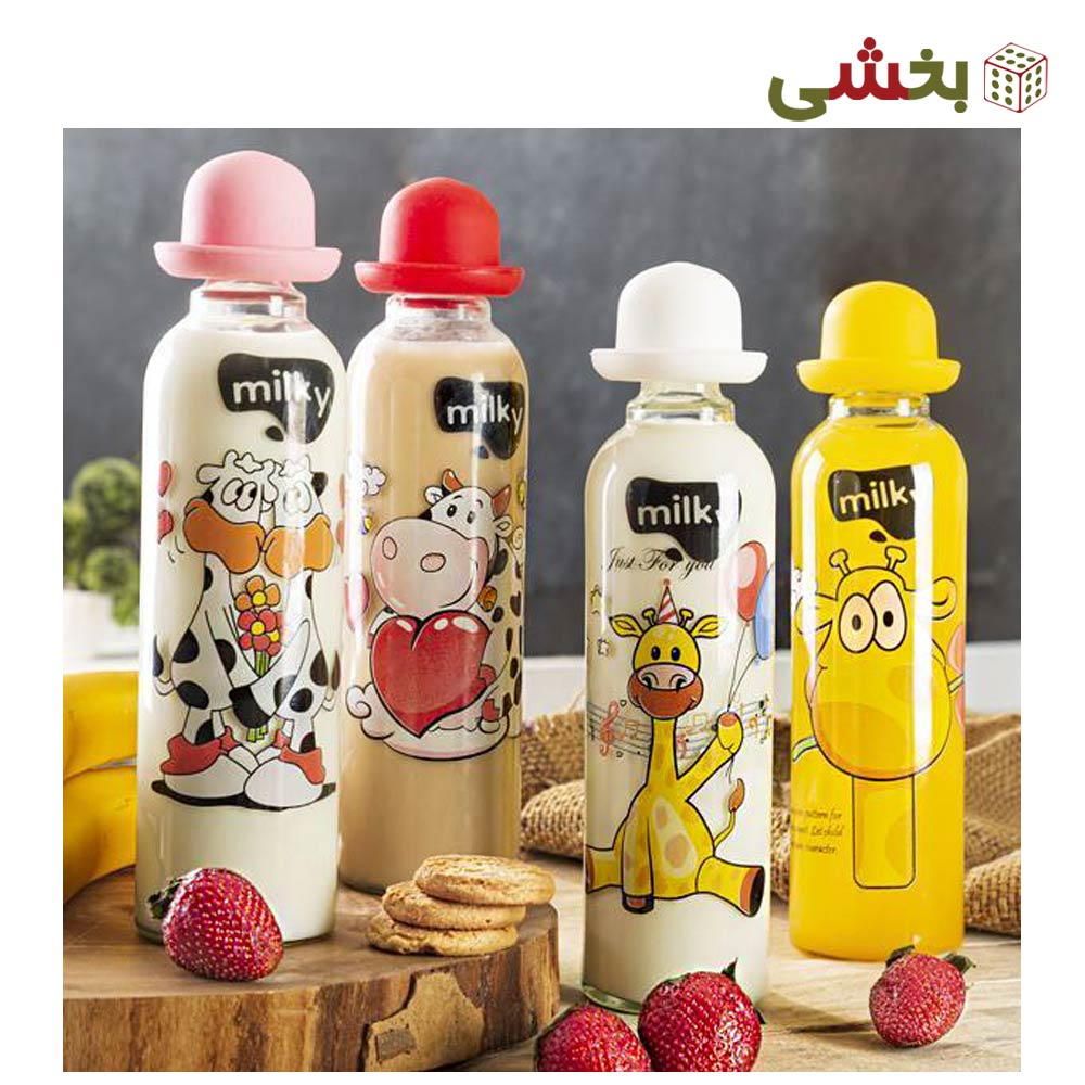 تصویر بطری شیر تن تن زیباسازان کد 12137