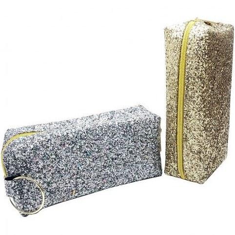 تصویر کیف لوازم  آرایشی گلیتری Glitter cosmetic bag