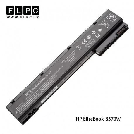 باطری لپ تاپ اچ پی HP Laptop battery Elitebook 8570W -6cell