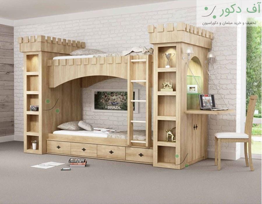 تخت دو طبقه قلعه |