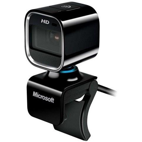 تصویر وب کم HD مایکروسافت مدل لایف کم HD-6000