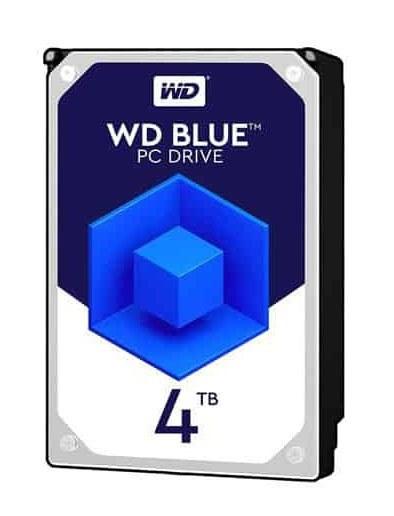 تصویر Western Digital Blue Internal Hard Drive 4TB هارددیسک اینترنال وسترن دیجیتال مدل Blue ظرفیت 4 ترابایت
