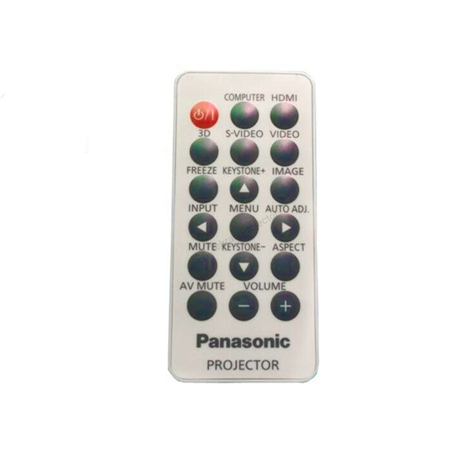 تصویر ریموت کنترل ویدئو پروژکتور پاناسونیک کد 2 – Panasonic projector remote control