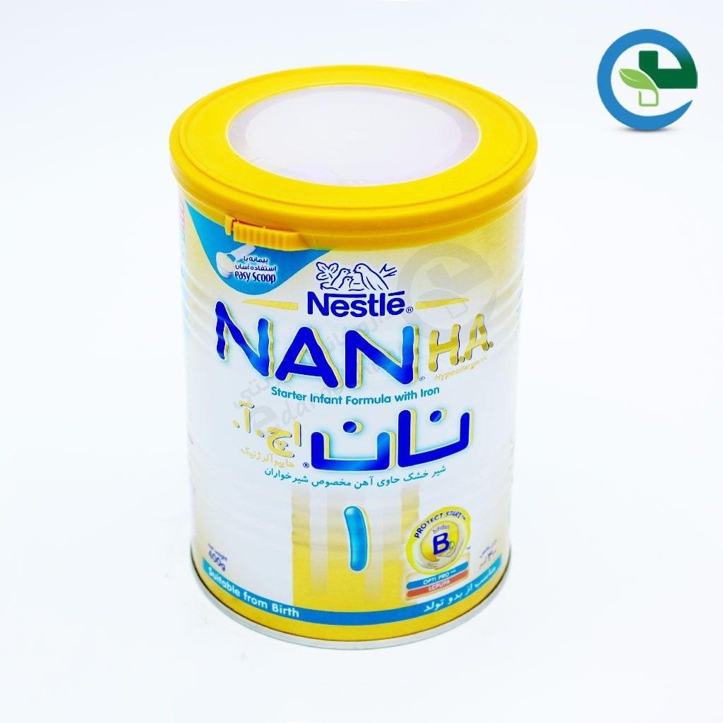 شیر خشک نان ۱ اچ آ نستله ۴۰۰ گرم