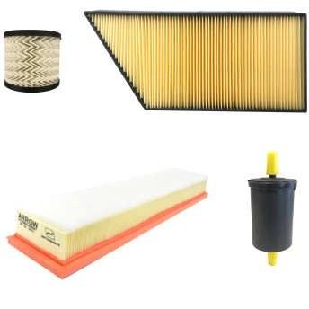 فیلتر روغن خودرو آرو کد 50793 مناسب برای پژو 207 به همراه فیلتر هوا و فیلتر کابین و فیلتر سوخت |