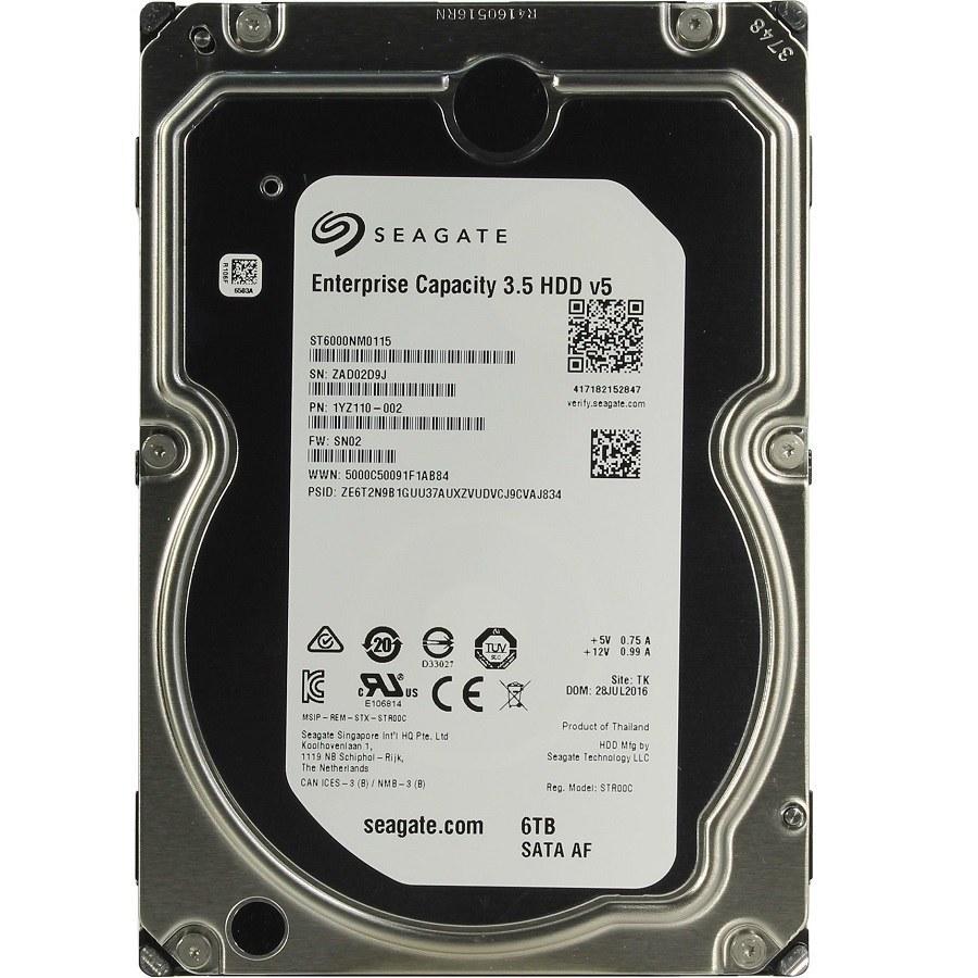 main images هارد اینترنال سیگیت ۶ ترابایت مدل Enterprise ST۶۰۰۰NM۰۱۱۵ Seagate Enterprise ST6000NM0115 6TB SATA 6Gb/s Internal Hard Drive