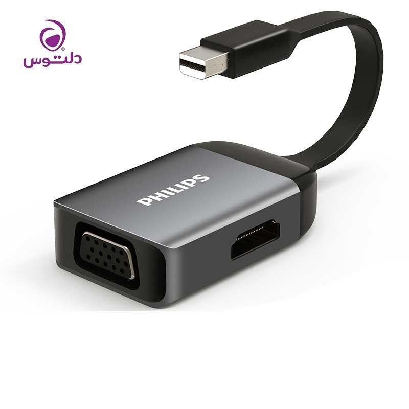 تصویر مبدل مینی دیسپلی به HDMI و VGA فیلیپس