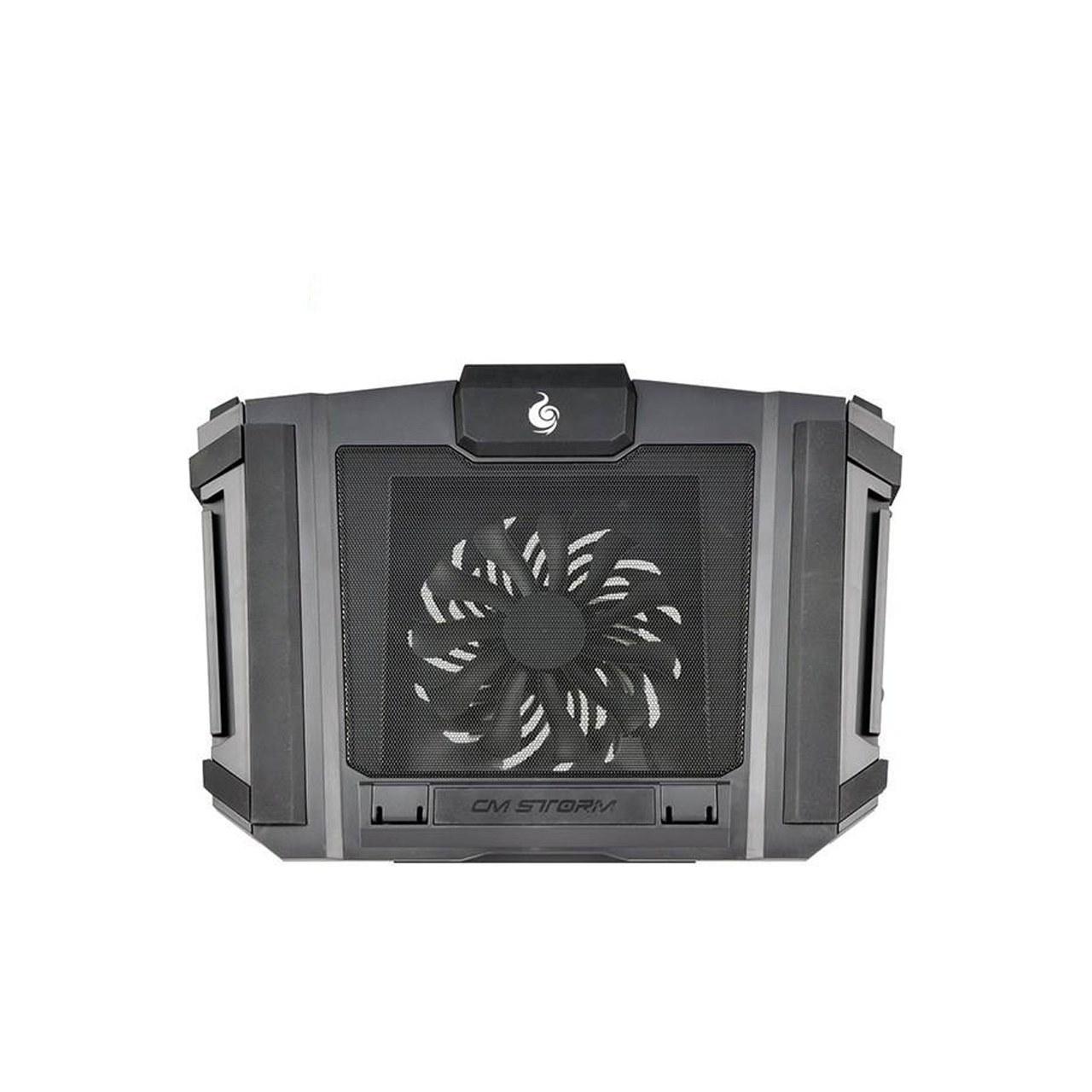 تصویر پایه خنک کننده لپ تاپ کولر مستر مدل COOLER MASTER NOTEPAL SF-17 Cooler Master NOTEPAL sf-17 Coolpad