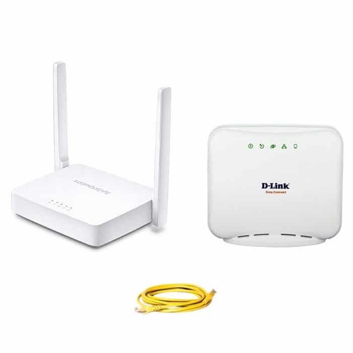 main images مودم +ADSL2 کابلی +روتر MW301R
