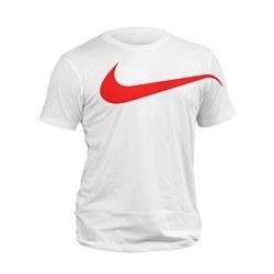 تصویر تیشرت سفید نایک big