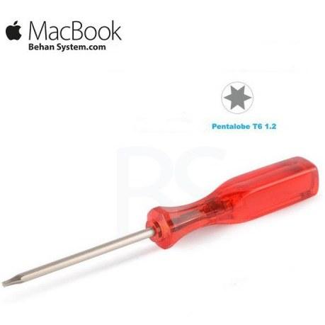 تصویر پیچ گوشتی شش پر مخصوص مک بوک Pentalobe P6 Star Screwdriver For Macbook