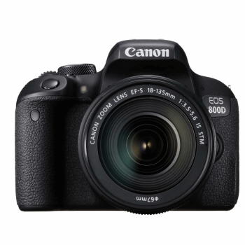 دوربین کانن EOS 800D + 18-135mm IS STM | Canon EOS 800D Digital Camera With 18-135mm IS STM Lens