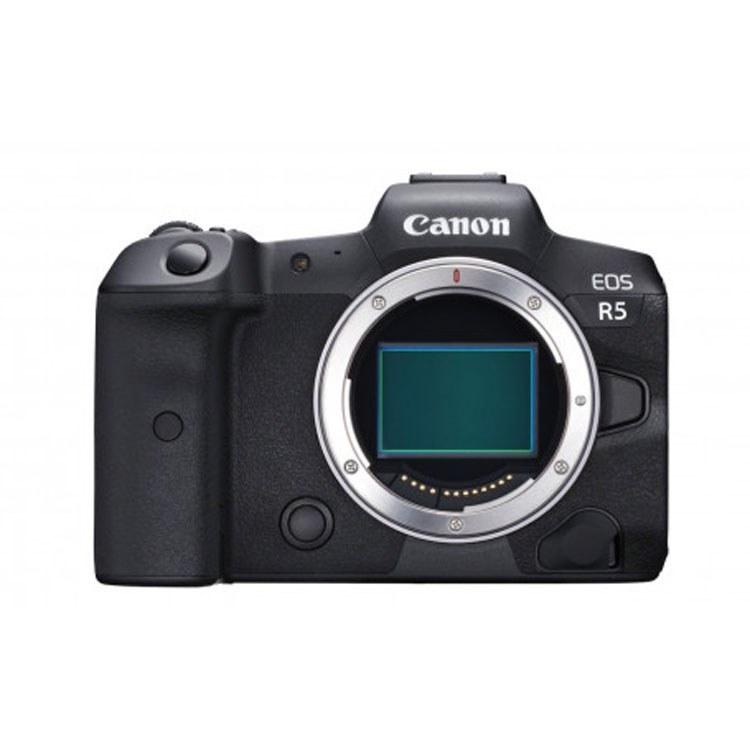 عکس دوربین بدون آینه کانن Canon EOS R5 Mirrorless Camera Body  دوربین-بدون-اینه-کانن-canon-eos-r5-mirrorless-camera-body