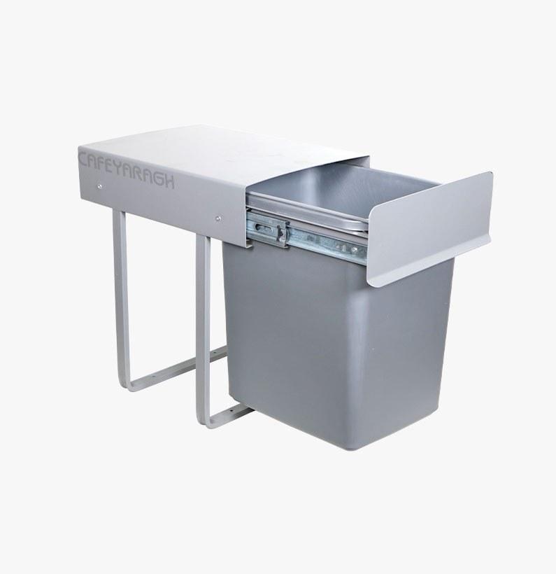 تصویر سطل زباله ریلی کابینتی پارس مدل 2032