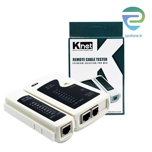 تصویر تستر کابل شبکه کی نت مدل KNet Cable Tester Analog 3N K-N800
