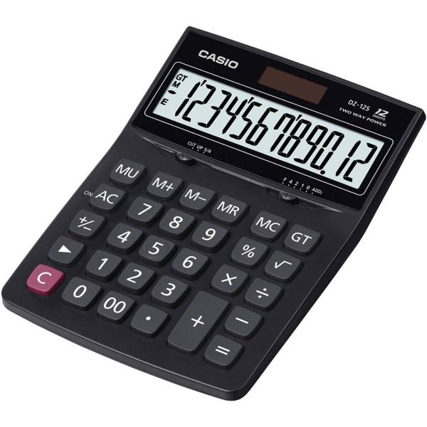 تصویر ماشین حساب کاسیو مدل DZ-12S Casio DZ-12S Calculator