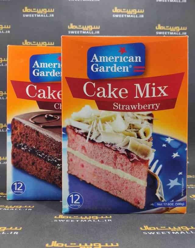 تصویر پودر کیک امریکن گاردن 500 گرم American Garden