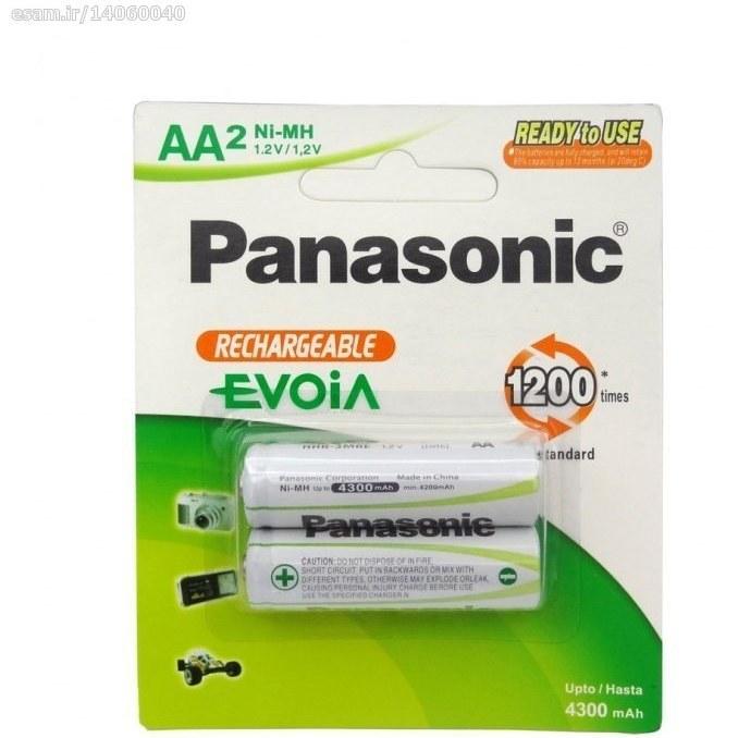 باتری قلمی قابل شارژ EVOiA - مارک Panasonic | 4300mAh