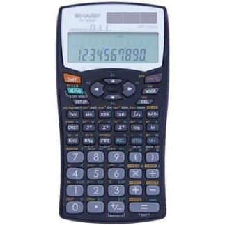main images ماشین حساب مهندسی شارپ مدل EL-۵۰۶W SHARP EL-506W Scientific Calculator