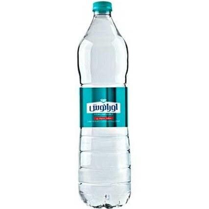 تصویر آب معدنی اورانوس 1/5 لیتری