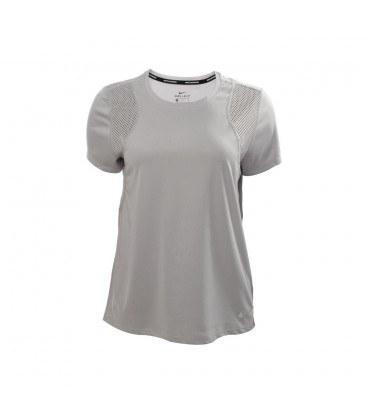 تیشرت زنانه نایک طوسی Nike Short Sleeve Running Top 890353-027