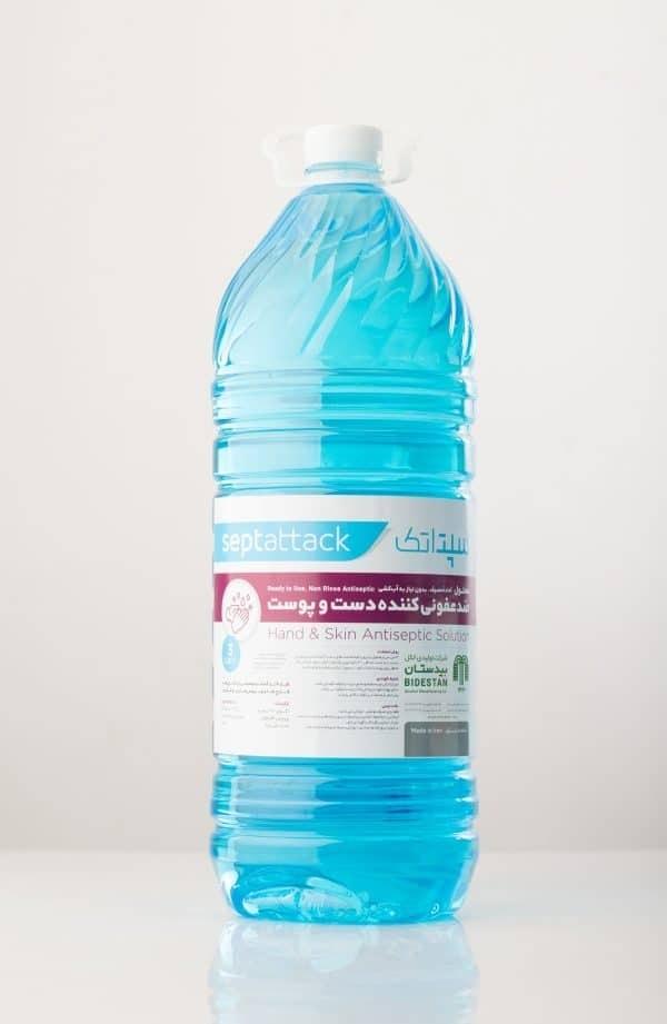 محلول ضدعفونی کننده ۳ لیتری پوست و دست