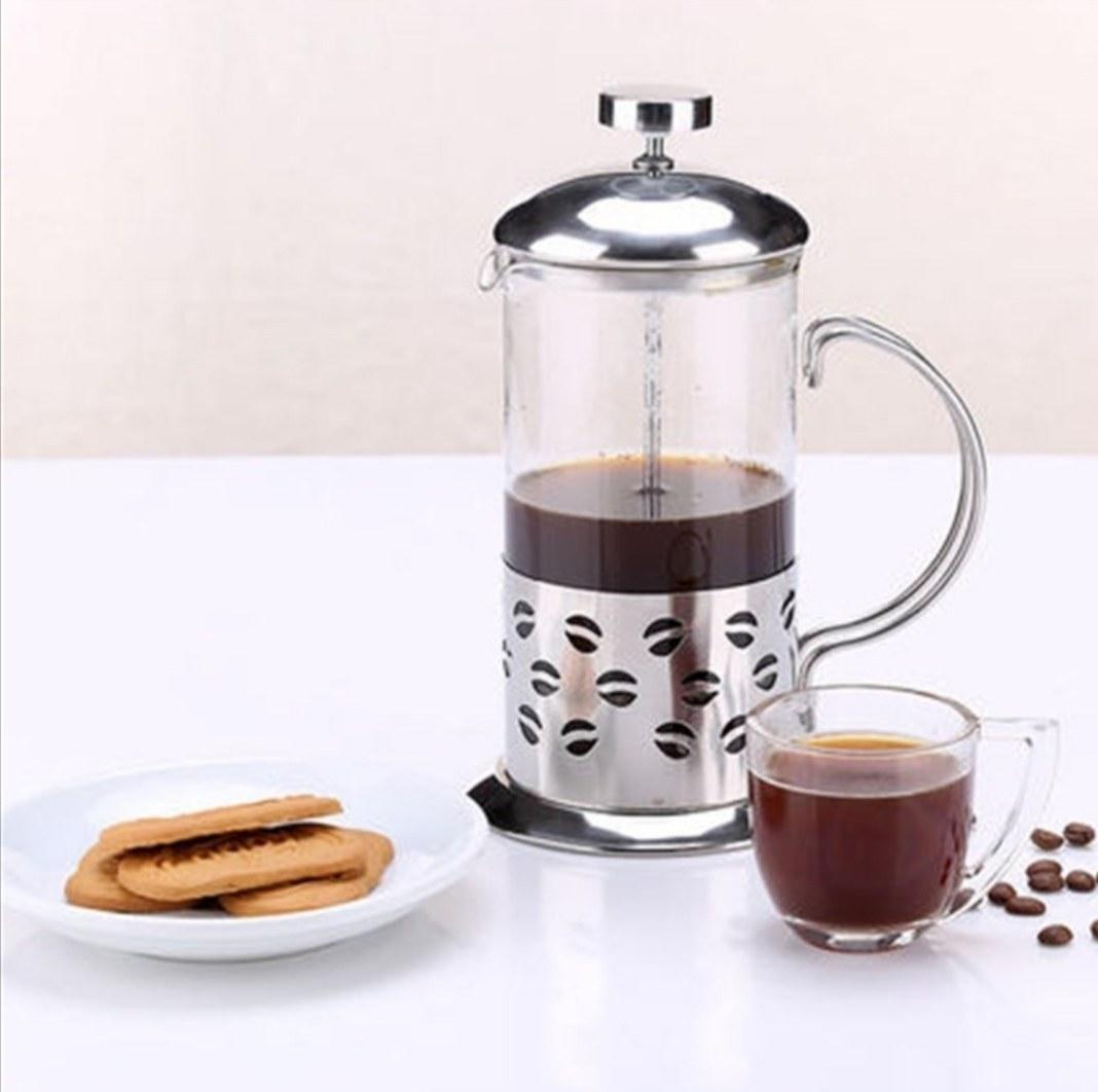 تصویر قهوه ساز فرنچ پرس مدل قهوه 350ML French Press coffee Maker 350 ML coffee