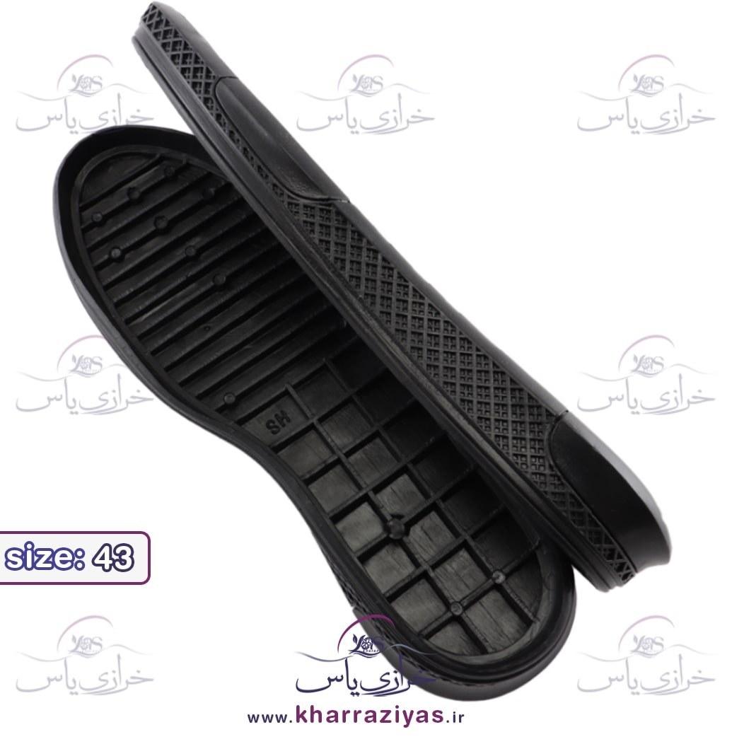 تصویر زیره کفش کارن مشکی مردانه سایز 43