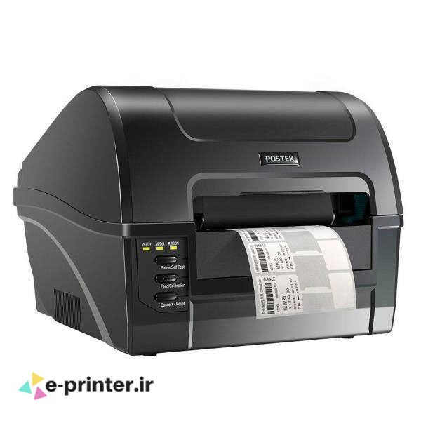 تصویر لیبل پرینتر پوستک Postek C168/200s Barcode Label Printer Postek C168/200s