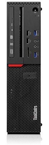 رایانه رومیزی Lenovo ThinkCentre M900 10FH005NUS - Intel Core i7 (6th Gen) i7-6700 3.40 گیگاهرتز - 8 گیگابایت DDR4 SDRAM - 1 TB HDD - ویندوز 10 Pro 64 بیتی - فاکتور فرم کوچک (تجدید شده)