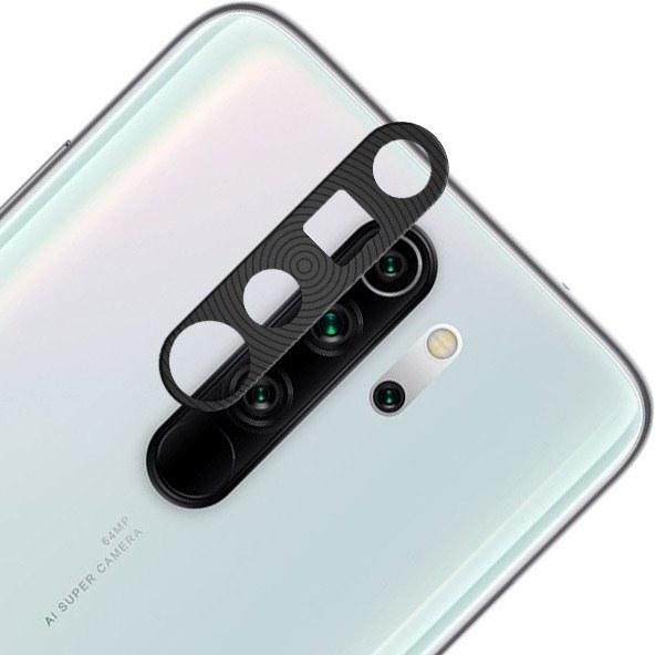 محافظ لنز فلزی Xiaomi Redmi Note 8 Pro محافظ کامل دوربین ضد خش و ضد ضربه  