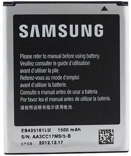 تصویر باتری اصلی گوشی سامسونگ Galaxy S Duos 2 S7582 Original battery Samsung Galaxy S Duos 2 S7582