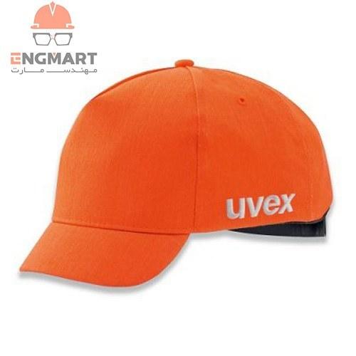 تصویر کلاه نیمه ایمنی گپ uvex مدل u-cap sport hi-viz