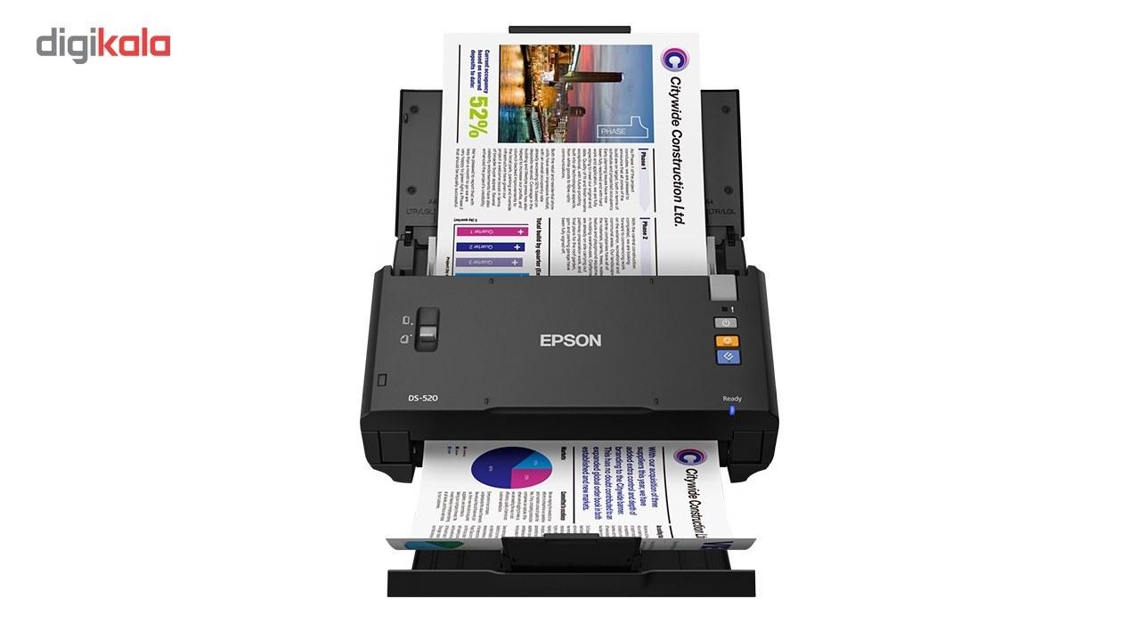 img اسکنر اسناد اپسون مدل WorkForce DS-520 EPSON WorkForce DS-520 Color Document Scanner