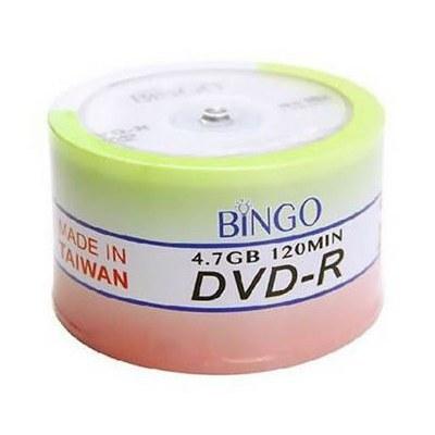 تصویر دی وی دی خام بینگو Bingo بسته 50 عددی