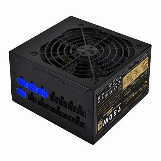 تصویر منبع تغذیه سیلوراستون 750 وات مدل SilverStone ST75F-GS-V3 GOLD Full Modular SilverStone Essential ST75F-GS-V3 GOLD Full Modular 750W Power Supply