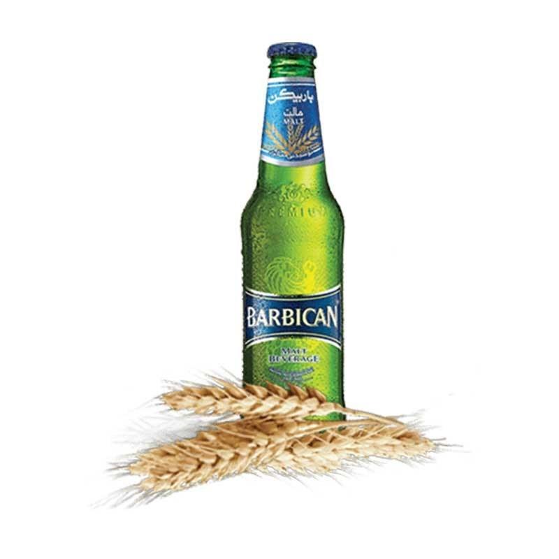 تصویر آبجو بدون الکل کلاسیک باربیکن ۳۳۰ میلی لیتر