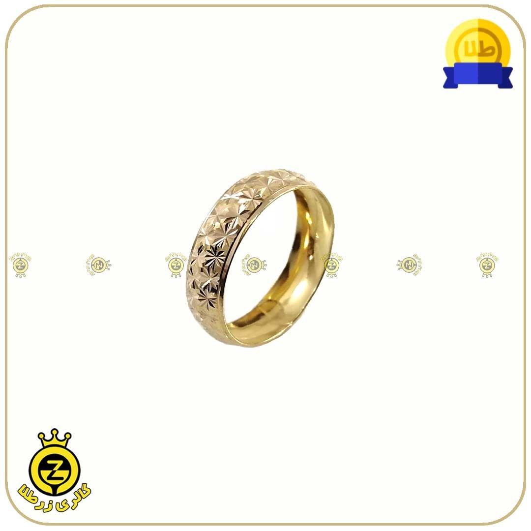 انگشتر طلا حلقه طرحدار