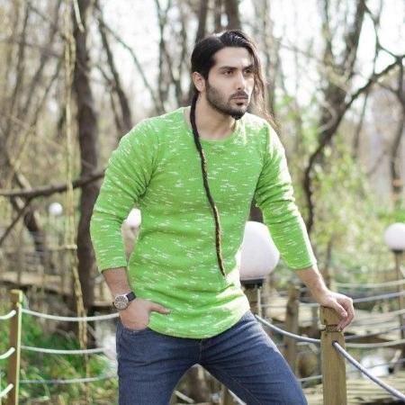 بافت مردانه سبز