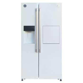 تصویر یخچال و فریز ساید بای ساید دوو مدل D4S-2915 ا Daewoo D4S-2915Side By Side Refrigerator Daewoo D4S-2915Side By Side Refrigerator