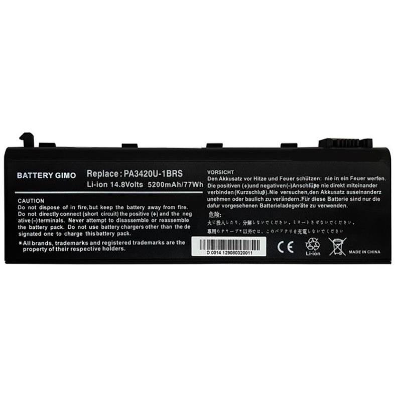 تصویر باتری لپ تاپ توشیبا PA3420U-1BRS مناسب برای لپ تاپ توشیبا PA3420U-PA3450U شش سلولی