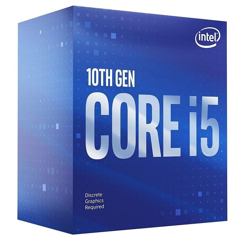 تصویر پردازنده CPU اینتل Core i5-10400F با فرکانس 2.9 گیگاهرتز باکس