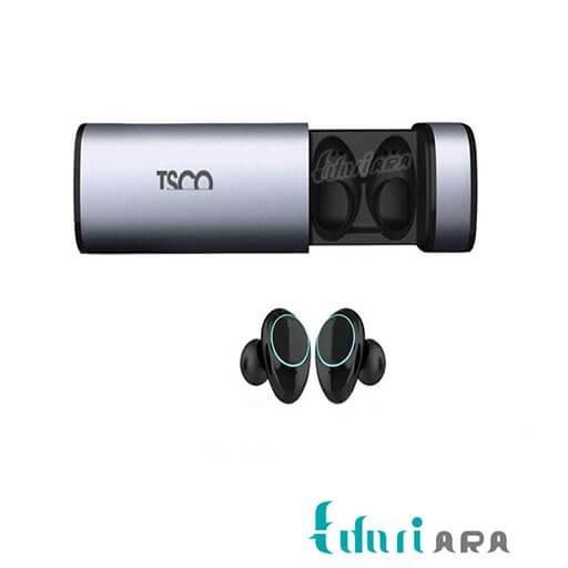 تصویر Wireless Headphones TSCO TH 5360 ا هدفون بی سیم تسکو TH 5360 همراه با پاوربانک و باکس نگهدارنده هدفون بی سیم تسکو TH 5360 همراه با پاوربانک و باکس نگهدارنده