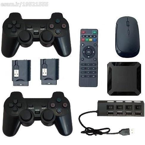 تصویر کنسول بازی اندرویدی (eco-03a)- با دو دسته بازی