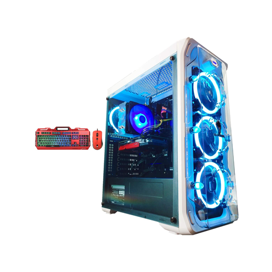 تصویر کامپیوتر گیمینگ داسین – DASSEN i7 10700 GTX1660 6GB موجود در آمازون