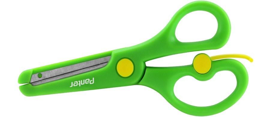 تصویر قیچی حفاظ دار سبز رنگ پنتر مدل S104